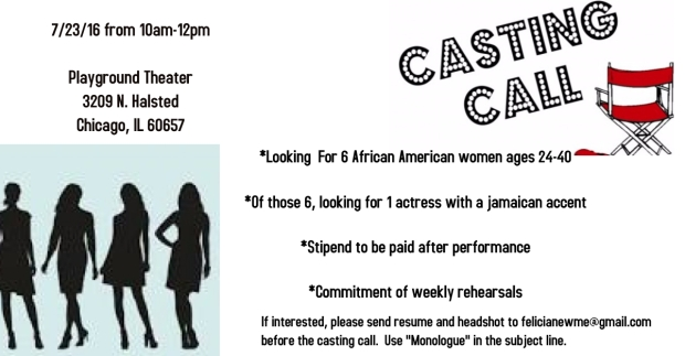 July Casting Call